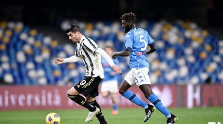 نابولي يثأر من يوفنتوس.. ويهزمه في الدوري الإيطالي