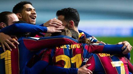 السوبر الإسباني  نجم برشلونة يستعد للانتقام من أتلتيتك بيلباو في النهائي