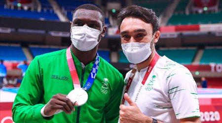 """المملكة تكرم البطل حامدي بـ""""مكافآت قياسية"""" بعد التتويج بفضية الأولمبياد"""