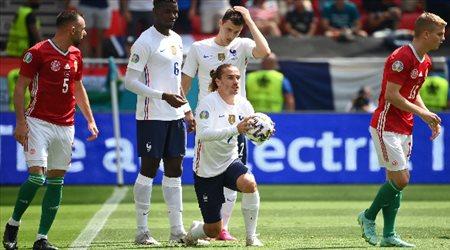 يورو 2020| الشوط الأول.. المجر تعاقب نجوم فرنسا بهدف غير متوقع