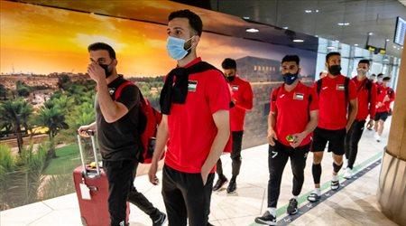 طريق المونديال.. بعثة فلسطين تصل الرياض استعدادا للأخضر