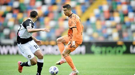 كريستيانو رونالدو على رأس قائمة يوفنتوس لمواجهة ميلان بقمة الدوري الإيطالي