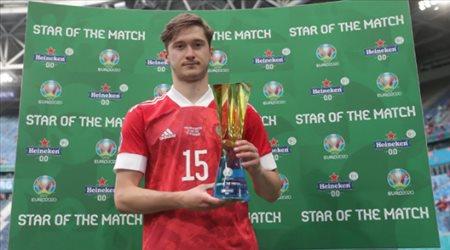 يورو 2020  أليكسي ميرانشوك رجل مباراة روسيا وفنلندا المثيرة
