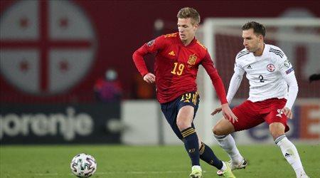 تصفيات كأس العالم 2022| نجم الدوري الألماني يخطف الفوز لمنتخب إسبانيا على حساب متذيل المجموعة