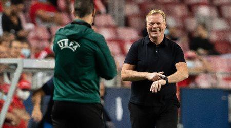 """كومان يصدم جماهير برشلونة: """"لن نفوز بدوري أبطال أوروبا"""""""