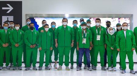 بن جلوي يصل اليابان.. ويصطحب نجوم السعودية إلى أولمبياد طوكيو