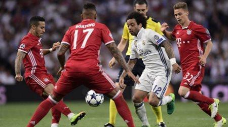 """المنافسة تشتعل.. معركة """"ثنائية"""" بين بايرن ميونيخ وريال مدريد"""