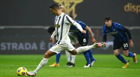 رونالدو يهزم إنتر.. ويوفنتوس يضع قدما في نهائي كأس إيطاليا