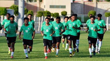 بداية المشوار.. الأخضر يختتم تحضيراته لمواجهة أوزبكستان في كأس العرب