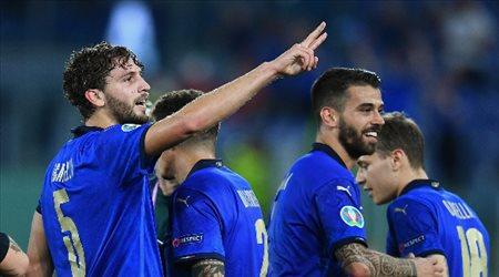 يورو 2020  بهدف وحيد.. إيطاليا ترسم لوحة إبداعية أمام سويسرا في الشوط الأول