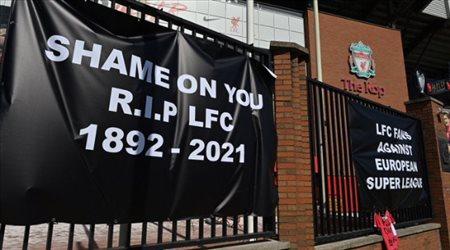 """""""ارقد في سلام يا ليفربول""""..جماهير الريدز تتوقف عن تشجيعها للنادي"""