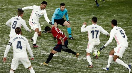 أوساسونا يعطل قطار ريال مدريد.. ويشعل الدوري الإسباني