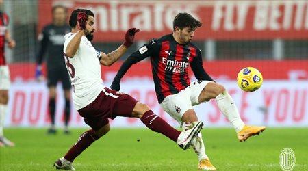 """ميلان يصعق تورينو في كأس إيطاليا.. بـ""""ركلات الحظ الترجيحية"""""""