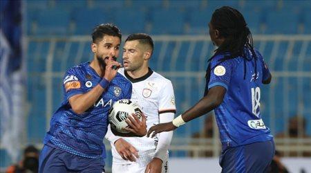رسالة من نجم الهلال السابق للاعبين قبل مباراة العين