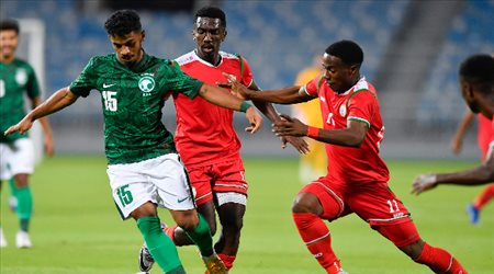 """""""أولمبي الأخضر"""" يكتسح عمان بثلاثية وديا"""