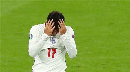 """بيان """"صادم"""" من سانشو بعد خسارة إنجلترا نهائي يورو 2020 أمام إيطاليا"""