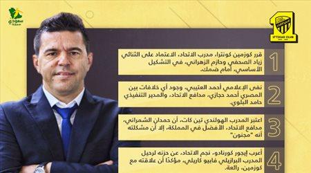 """أخبار الاتحاد اليوم  حقيقة أزمة حجازي والبلوي.. قرار كوزمين و""""حزن"""" كورنادو"""