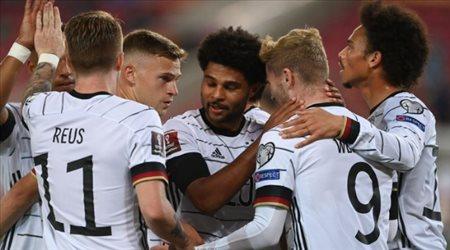ألمانيا بالقوة الضاربة لمواجهة مقدونيا الشمالية في تصفيات كأس العالم 2022