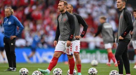 """إيريكسن يتفوق على قائمة الدنمارك في يورو 2020..""""أكثر من نصف الفريق"""""""