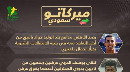 ميركاتو سعودي| الشباب يريد مهاجم رين وخيسوس يصدم الهلال في تيكسيرا