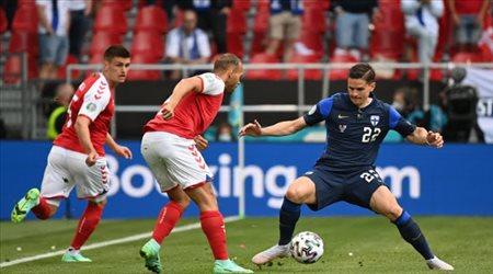 الاتحاد الأوروبي يعلق مباراة الدنمارك أمام فنلندا في يورو 2020 بعد إصابة إيركسين