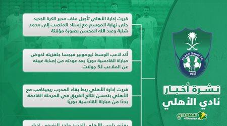 أخبار الأهلي اليوم| تأجيل ملف مدير الكرة وشرط لبقاء ريجيكامب