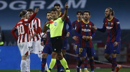 """الاتحاد الإسباني """"يصدم"""" برشلونة.. إيقاف ميسي 12 مباراة في حالة واحدة!"""