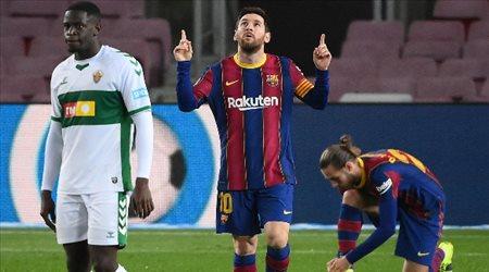 أزمة قميص ميسي مع برشلونة في 2022