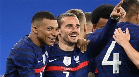 """فرنسا بالقوة الضاربة """"الخارقة"""" لمواجهة بلجيكا في دوري الأمم الأوروبية"""