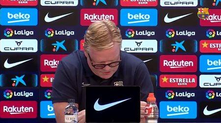 كومان يكشف عن كواليس مكالمة لابورتا ووعوده بانتصارات برشلونة المتتالية