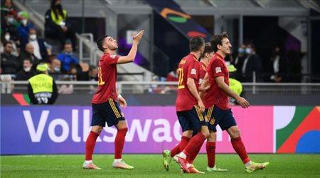 مفاجآت نارية في تشكيل إسبانيا لمواجهة فرنسا بنهائي دوري الأمم الأوروبية