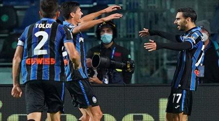 الدوري الإيطالي.. إنتر ميلان يتعادل مع أتالانتا ويحتل المركز الثالث مؤقتا