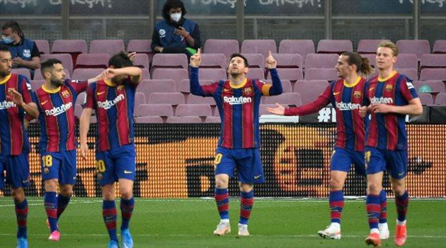 ميسي من مباراة برشلونة ضد غرناطة