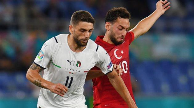 إيطاليا وتركيا - بيراردي وكالهانوجلو