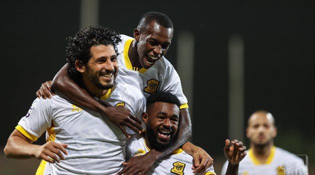 سعود عبد الحميد - أحمد حجازي - الاتحاد