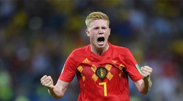 دي بروين مع منتخب بلجيكا