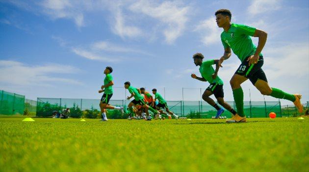 تدريبات الأخضر الأولمبي