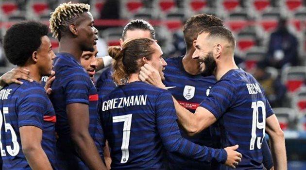 بنزيما مع منتخب فرنسا