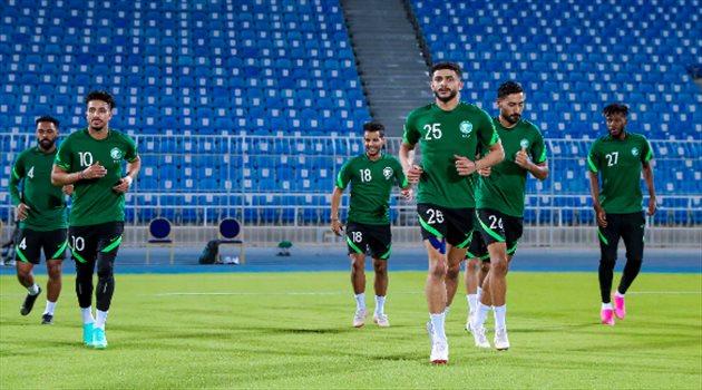 تدريبات منتخب السعودية الأول