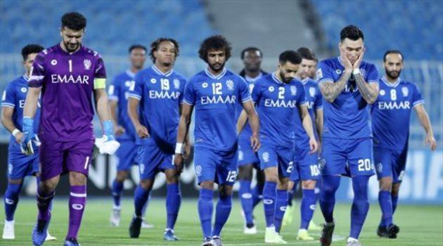 الهلال - من مباراة استقلال
