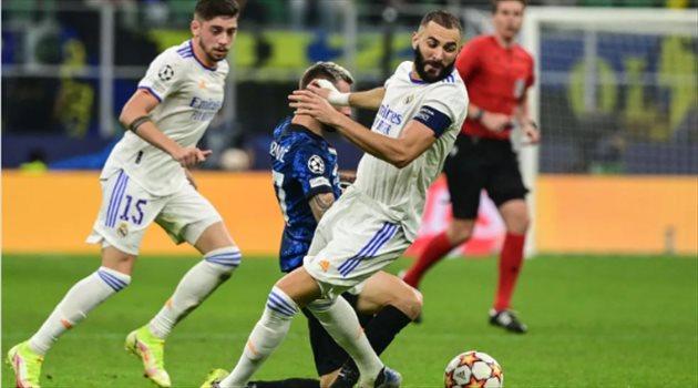 ريال مدريد ضد إنتر