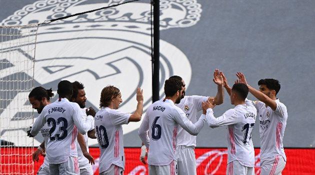 ريال مدريد من مباراة إيبار