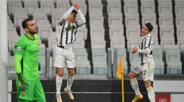 كريستيانو رونالدو من مباراة يوفنتوس وروما