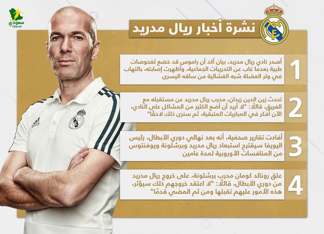 نشرة ريال مدريد