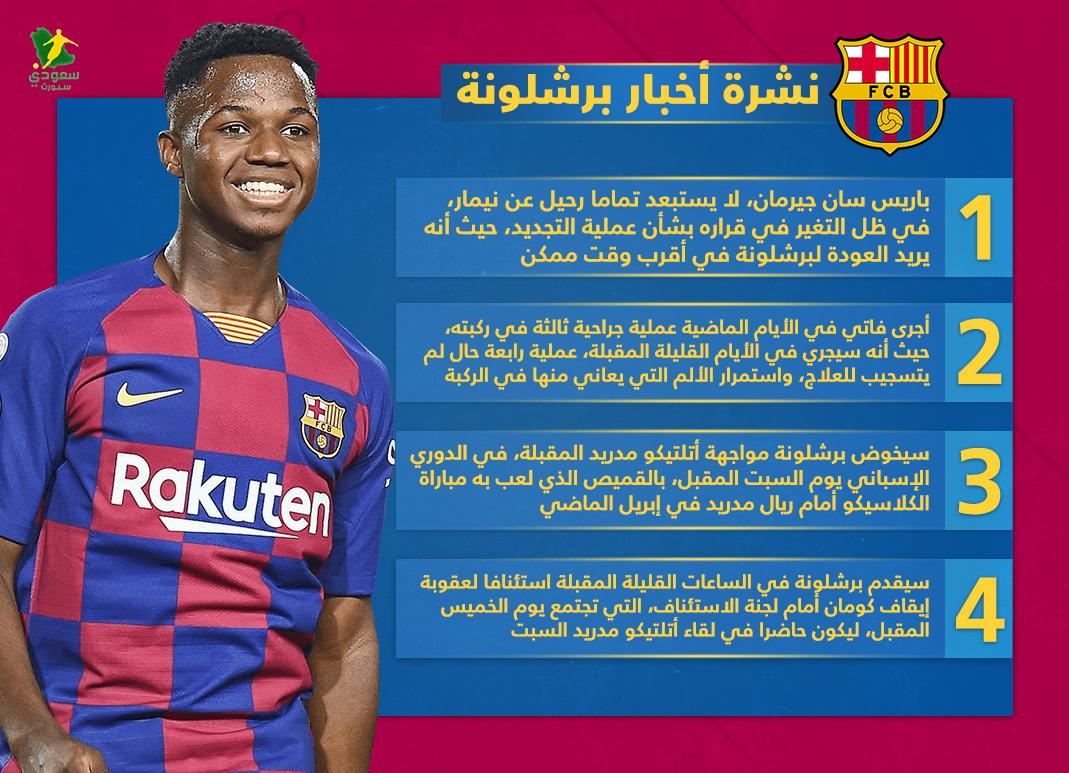 نشرة برشلونة