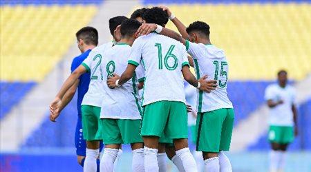 """تصفيات آسيا.. السعودي الأولمبي يعود من أوزبكستان بـ""""نقطة واحدة"""""""
